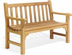 Outdoor Garden Bench Chair Seating Wooden Large Long Decoration