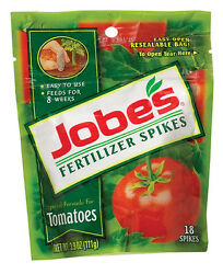 Jobe#x27;s Fertilizer Spikes For Tomato Plants 18 pk $8.49