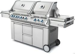 Napoleon PRO 825 Stainless Burner Gas BBQ grill outdoor kitchen PROPANE