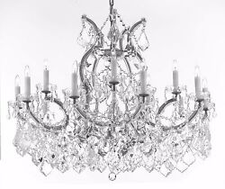 Maria Theresa Chandelier Crystal Lighting Fixture Pendant Ceiling Lamp for $618.99