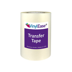 Clear EZ TEAR Transfer Tape for Sign Craft Vinyl in Various Sizes and Widths $24.99