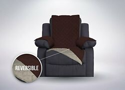 Protective Quilted Reversible Recliner Furniture Chair Cover Oversized EASY CARE