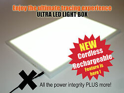 Wireless A3 ULTRA LED Light Box -TRACING DRAWING DESIGN ART Cordless LIGHT PAD