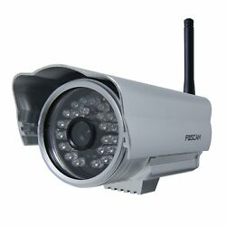 Foscam FI8904W Outdoor WirelessWired IP Camera with 15 - 20 Meter Night Vision