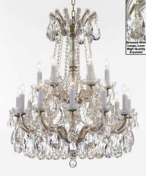 Maria Theresa Chandelier Crystal Lighting Fixture Pendant Ceiling Lamp wLarge $759.03