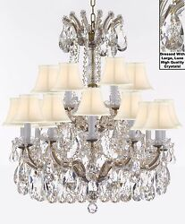 Maria Theresa Chandelier Crystal Lighting Fixture Pendant Ceiling Lamp wLarge $857.04