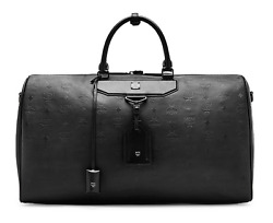 MCM Unisex Travel Collection Weekender Large Bag MUV6SHE25BK001 Authentic