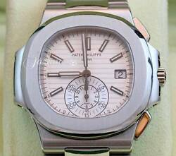 Patek Philippe Nautilus 5980-1A Men's Stainless Steel Date BOXPAPERS