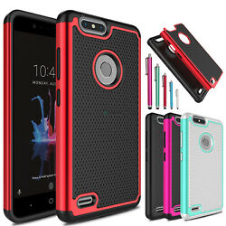 For ZTE Blade Z Max  Z982 Shockproof Hybrid Impact Hard Slim Phone Case Cover