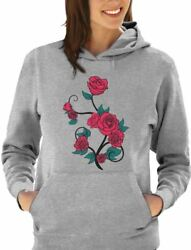 Roses Summer Fashion Novelty Women Hoodie Gift $27.99