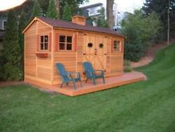 Cedarshed Cedarhouse in 5 sizes
