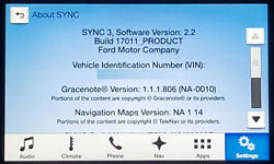 Ford Lincoln Sync 3 Apim With Screen Module Navigation Upgrade Nav