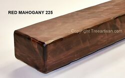 Knotty Pine Fireplace Mantel Shelf Rustic Beam w Corbels Made to Size 26 Colors