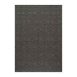 Momeni Baja Charcoal Outdoor Rug BAJA0BAJ-4CHR3B57 3-ft 11-in x 5-ft 7-in