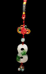 Feng Shui Jade Period Lucky quot;8quot;charm Hanging for infinity abundance and success $11.99