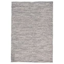Trans Ocean Java Charcoal Lamar Outdoor Rug JVA71770147 7-ft 6-in x 9-ft 6-in