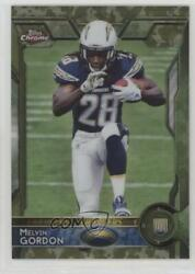 2015 Topps Chrome Rookies STS Camo Refractor 499 Melvin Gordon #105 Rookie $11.75