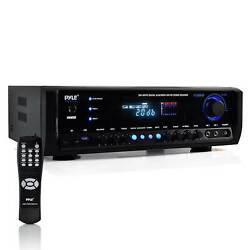 Pyle PT390BTU Digital Home Theater Bluetooth 4 Channel Radio Aux Stereo Receiver $96.59
