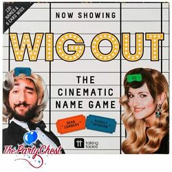 NOW SHOWING WIG OUT PARTY GAME Christmas Party Film Night Party Game WIGOUT GBP 9.85