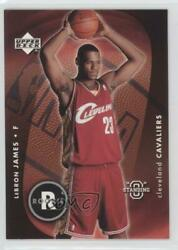 2003-04 Upper Deck Standing O #85 Lebron James Cleveland Cavaliers Rookie Card