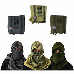 Maddog Sports Shemagh Tactical Desert Scarf NEW GIFT
