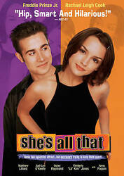 She's All That (dvd) New Free Shipping