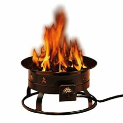Heininger 5995 58000 BTU Portable Propane Outdoor Fire Pit Pits Chimineas Yard