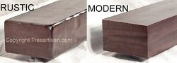 Walnut Rustic or Modern Fireplace Mantel Mantle Floating Shelf Made to Size