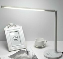9W 30 LED Dimmable Eye-Care LED Desk Lamp 3 Color Modes Touch-Sensitive Contro
