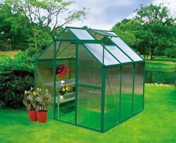 Basic 6 x 6 Greenhouse Kit - Free Shipping