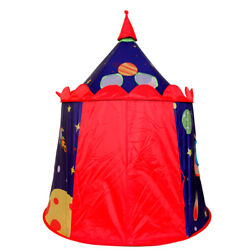 Portable Toy Tent Outer Space Castle Playtent Child Indoor Outdoor Playhouse