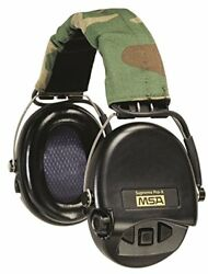 MSA Safety 10153057 Supreme Pro-X Earmuff with Black Headband Black Cups with G