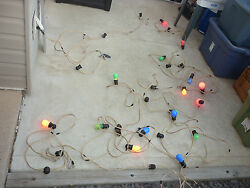 Vintage Incandescent 100' String Light RV Camp Party Patio Carnival Outdoor