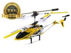Original New Syma RC Helicopter Yellow Best Strong Quality Control Motor Fly $28.58