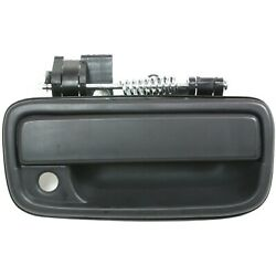 Exterior Door Handle For 95-2004 Toyota Tacoma Front Passenger Black Plastic