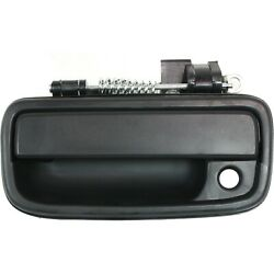 Exterior Door Handle For 95-2004 Toyota Tacoma Front Driver Side Black Plastic