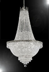 French Empire Crystal Chandelier Lighting - Great for the Dining Room