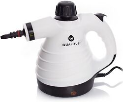 Handheld Carpet Steam Ironing Cleaner Compact Indoor Outdoor Heavy Duty White