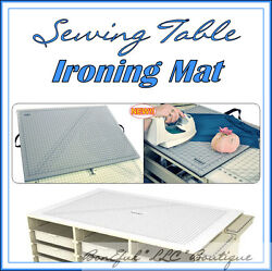 BonEful Sewing Ironing Mat 4 Table Machine Board Craft Fabric FQ Large Quilt Kit
