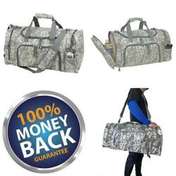 21quot; Large Military Army Navy Acu Digital Camo Camouflage Duffel Duffle Bag Bags $14.92
