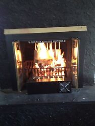 Get more heat from a vented fireplace using our fireplace heat recovery system