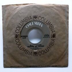 BATTEAUX 45 Tell Her She's Lovely  Wishing My Father COLUMBIA soft rock Dm1000