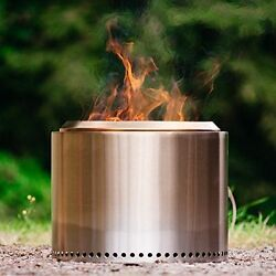 Camping Outdoor Portable Solo Stove Bonfire Patio Fire Pit Wood Burn Stainless