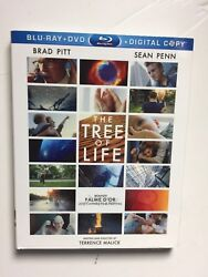The Tree of Life (Blu-rayDVD 2011 2-Disc) NEW wslipcover