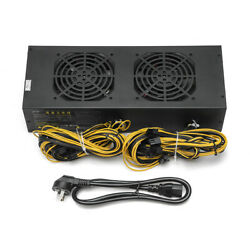 2800W Miner Mining Power Supply Mining Rig Machine with Four Fans For A6 A7 s5 s