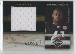 2010 Panini Limited Jumbo Materials 100 Jonathan Dwyer #4 Rookie $4.28
