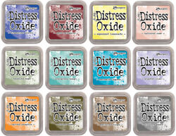 Tim Holtz Distress Oxide Ink Pad or ReInker New Colors qty discount $8.00