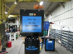 Air-Max 7.5 hp Rotary Screw Air Compressor 80 vertical 12 Year Warranty !!