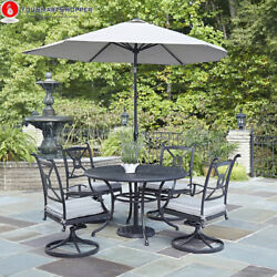 Home Styles Athens Outdoor 5pc Dining Set with 48