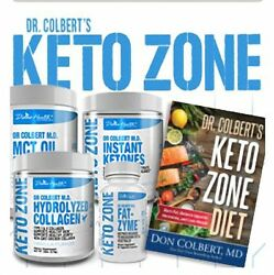 Dr Colbert M.D. KETO ZONE Complete Kit with Iced Krill Omega 3 - COUPLES KIT (2)